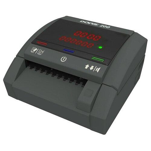 Детектор банкнот (валют) DORS 200 (FRZ-041627)версия без АКБ
