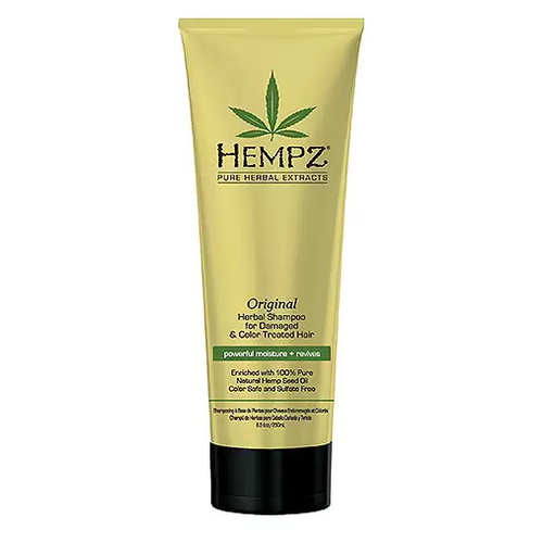 Hempz Original Herbal Shampoo For Damaged - Шампунь растительный Оригинальный для увлажнения поврежденных волос, 265 мл недорого