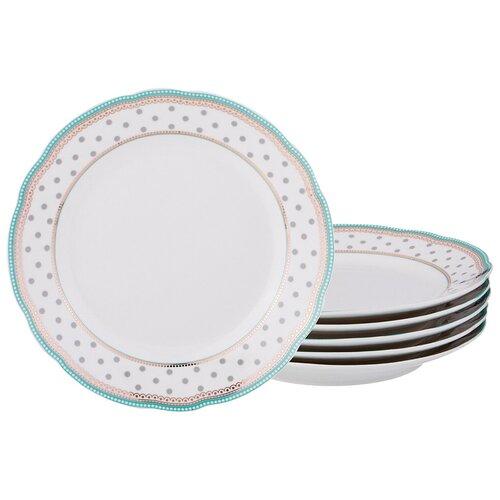 Набор десертных тарелок Lefard из 6-ти шт. d = 20 см (275-964)