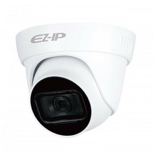 Фото - Уличная HDCVI Видеокамера 2 МП с ИК подсветкой с микрофоном EZ-IP EZ-HAC-T5B20P-A-0360B видеокамера hdcvi купольная ez ez hac t1a11p 0280b