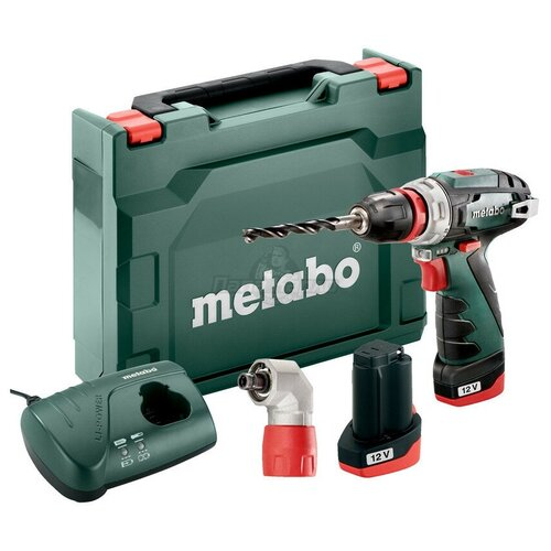 Безударные дрель-шуруповерты аккумуляторные Metabo METABO Дрель-шуруповёрт с угловой насадкой