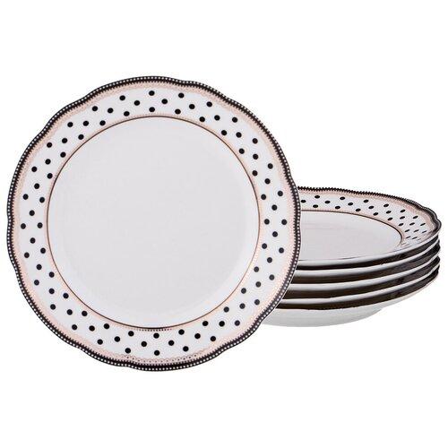 Набор десертных тарелок Lefard из 6-ти шт. d = 20 см (275-966)