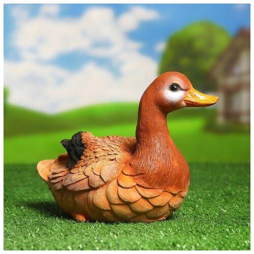 Садовая фигура Утка дикая 25*16*20 cм садовая фигура утка цветная мал 30 20 46 см f01271 1145141