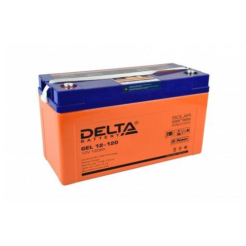 Аккумулятор Delta GEL 12-120 аккумулятор delta battery gel 12 55