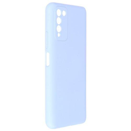 Чехол Pero для Honor 10X Lite Liquid Silicone Blue PCLS-0061-LB