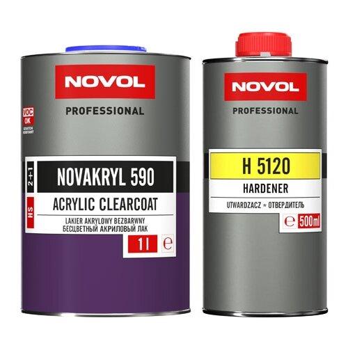 Лак NOVOL Novakryl 590, H5120 1000 мл 500 мл