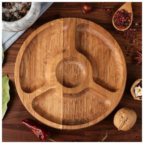 Тарелка-доска для закусок и нарезки