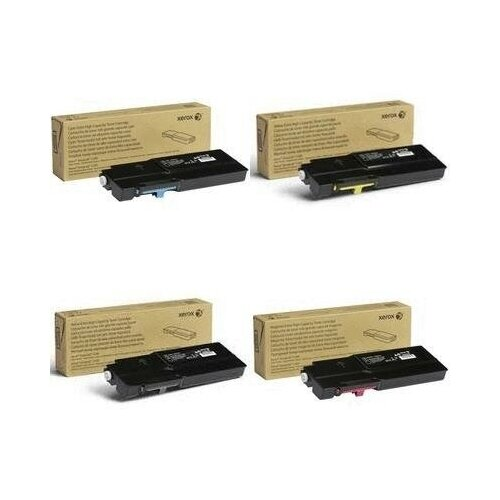Xerox 106R03533-106R03535-106R03534-106R03532 Картриджи комплектом полный набор экстра-повышенной емкости CMYK:8K, BK:10.5K стр. [выгода 3%] для VersaLink C400DN C400, C400N, C405DN C405, C405N