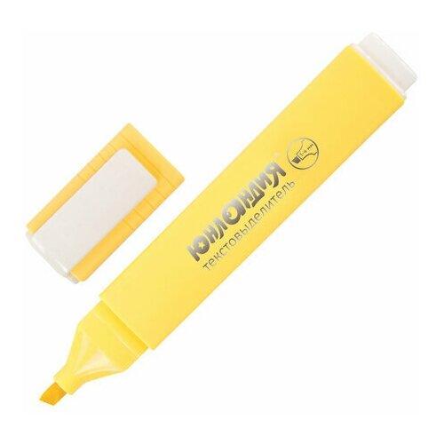 Купить Маркер-текстовыделитель Юнландия Colorstar Pastel (1-4мм, ваниль) 4шт., 12 уп. (151710), Маркеры