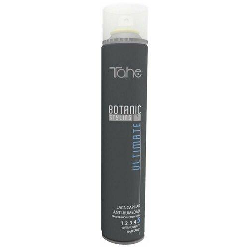 Tahe Botanic Styling Ultimate Anti-Humidity Hair Spray Fixing level 5 Ультра-сухой лак для укладки волос степень фиксации 5 400 мл. [сэшн cпрэй флэкс] лак для укладки подвижной фиксации kevin murphy session spray flex 400 мл