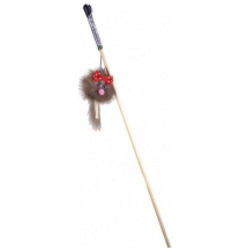 Gosi 07235 игрушка для кошек махалка зверек из норки микки на веревке, 83403 (2 шт)