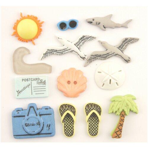 Купить 4250, Пуговицы. Пляж, Buttons Galore & More