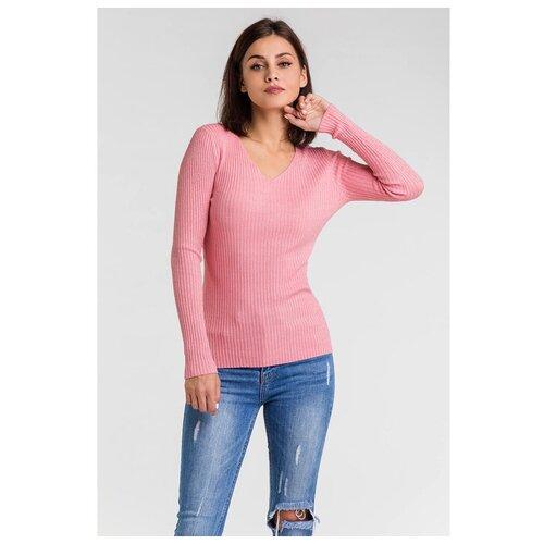 Пуловер Minaku, размер 42, розовый