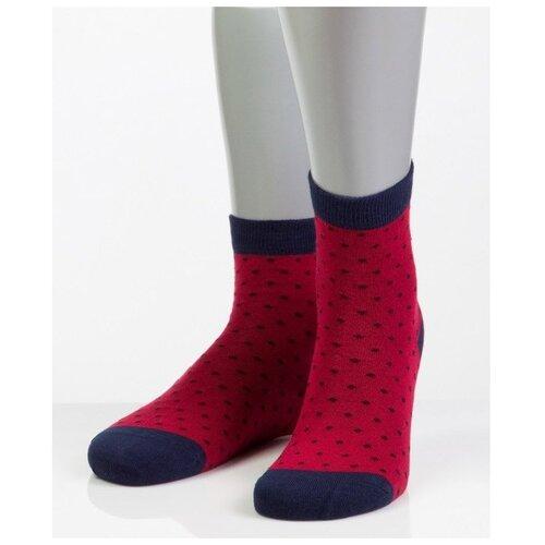 Носки женские Grinston 15D27 в точку, Кремовый, 23 (размер обуви 35-37)