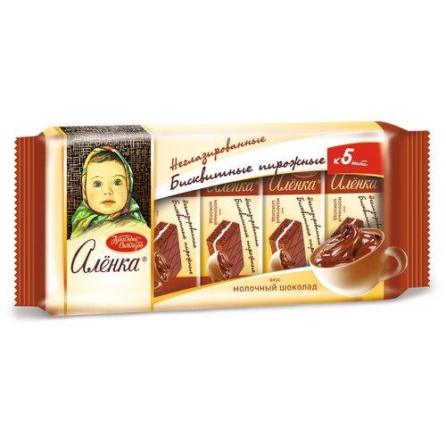 Фото - Пирожное Алёнка со вкусом молочного шоколада 175 г пирожное красный октябрь алёнка со вкусом вареной сгущенки 200 г