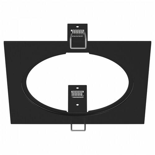 Декоративная рамка Lightstar Intero 111 Quadro 217816 / 217817 / 217819 на 1 светильник черный
