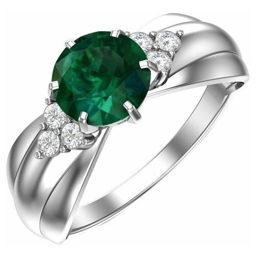 POKROVSKY Серебряное кольцо Романтика 1100937-03665, размер 16