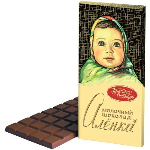 Фото - Шоколад Алёнка молочный, 200 г пирожное красный октябрь алёнка со вкусом вареной сгущенки 200 г