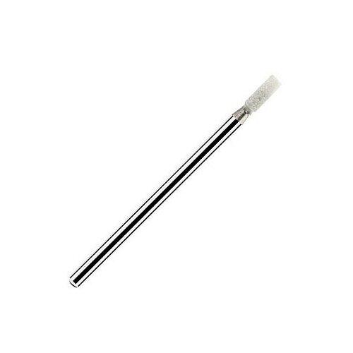 Фото - Irisk, фреза корундовая цилиндр малый Ø2мм, длина 6мм (Белая, суперкрупная зернистость) irisk фреза керамическая цилиндр оранжевая d 6 мм