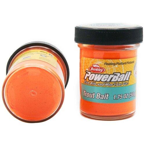 Форелевая паста Berkley - BTBFO2 (1004773) биоразлагаемая флуоресцентная оранжевая