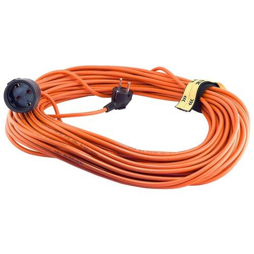 Фото - Удлинитель-шнур силовой LUX 1 розетка 10м 16510 16А IP20 с/з удлинитель шнур силовой denzel 2 розетки 10м 96020 16а ip44 с з