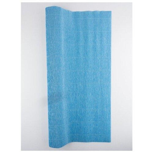 Купить Бумага гофрированная 50см х 2, 5м., 180г/м., Cartotecnica Rossi, 556 голубой, Цветная бумага и картон