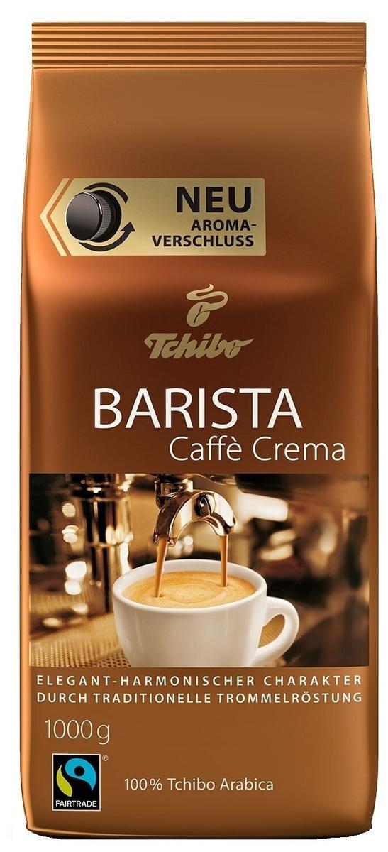 кофе в зернах Tchibo Barista Caffe Crema