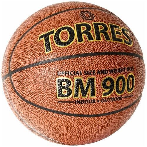 Мяч баскетбольный TORRES BM900 арт.B32035, р.5 баскетбольный мяч torres b30035 р 5 коричневый черный