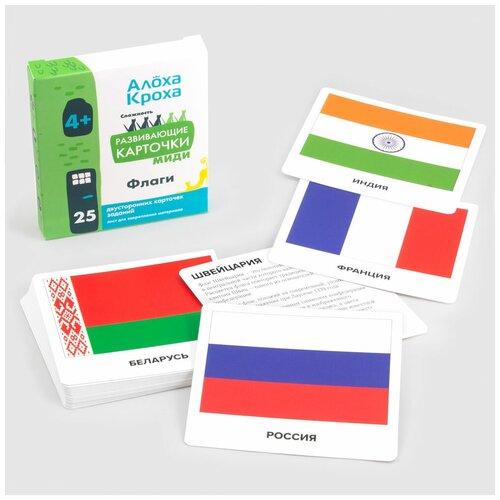 Флаги | Развивающие и обучающие карточки для детей по методу Домана от