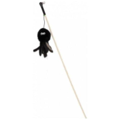 Gosi 07322 игрушка для кошек махалка осьминог натуральная норка этикетка флажок, 84866 (2 шт)