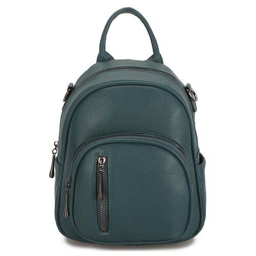 Маленькая женская сумка-рюкзак «Инса» 1255 Turguoit