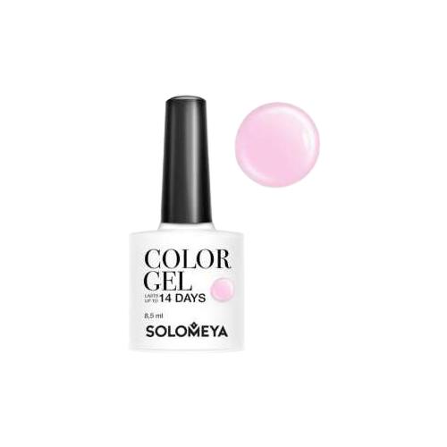 набор приборов iris i8413 pp pink Гель-лак для ногтей Solomeya Color Gel, 8.5 мл, Pink Iris/Розовый ирис 97