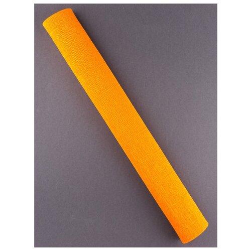 Купить Бумага гофрированная 50см х 2, 5м., 180г/м., Cartotecnica Rossi, 020/Е2 оранжевый, Цветная бумага и картон