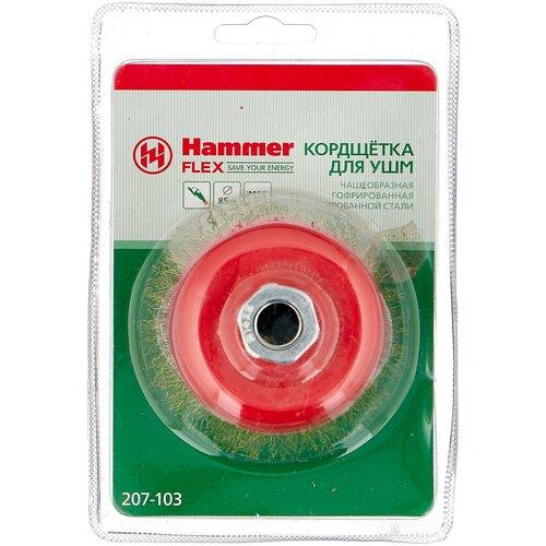 Фото - Кордщетка Hammer 207-103 кордщетка hammer 207 105