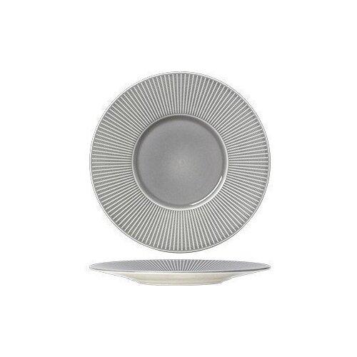 Тарелка мелкая с широким бортом Steelite «Уиллоу Маст» D=28,5 см