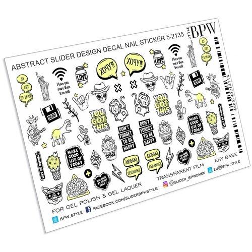 Купить BPW.Style, слайдер-дизайн (Абстрактный микс 2, sd5-2135), BPW style