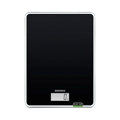 Фото - Кухонные весы Soehnle Page Compact 100 (черный) кухонные весы soehnle roma plus бел с чашей