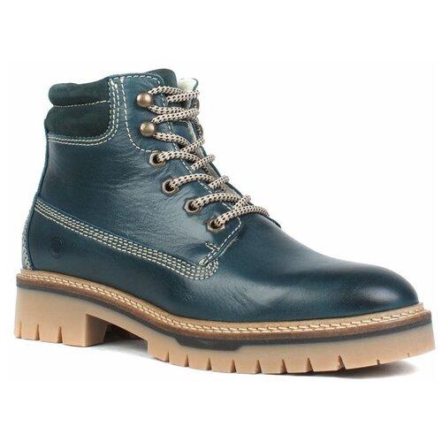 ботинки tamaris Ботинки Tamaris , размер 40 , зеленый