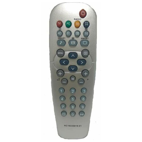 Фото - Пульт ДУ Philips RC 19335019/01H Radio пульт ду huayu rc 19335019 01 для телевизоров philips 14pf6826 26pf8946 20pf8846 17pf8946 серый