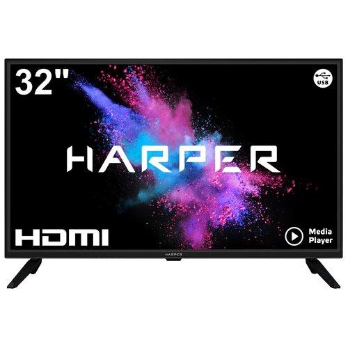 Фото - Телевизор HARPER 32R470T 32 (2019), черный телевизор harper 40 40f660t 40f660t