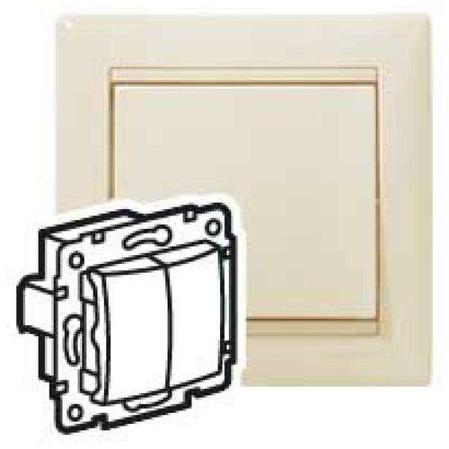 Выключатели скрытой установки Legrand Механизм переключателя на 2 направления 2-кл. СП Valena 10А IP31 сл. кость (DIY-упак.) Leg 695604