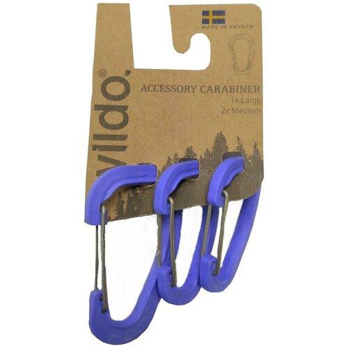 Набор Карабинов Wildo 2019 Accessory Carabiner Set Of Three Для Аксессуаров Wildo Blueberry