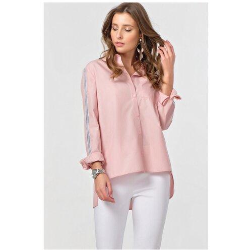 Рубашка FLY, размер 48, пыльная роза