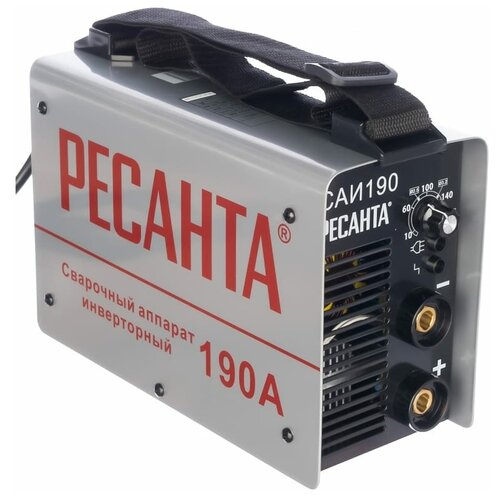 Сварочный аппарат инверторного типа РЕСАНТА САИ-190 сварочный аппарат инверторного типа ресанта саи 190 краги mma