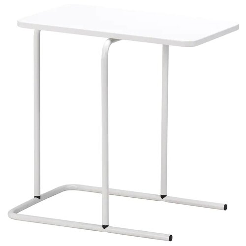 RIAN риан Придиванный столик, белый55x40 см