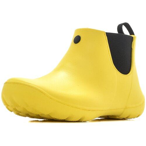 Ботинки мужские KAURY из ЭВА, не утепленные, арт. 510 ЖР, цвет: желтый, р-р 45/46