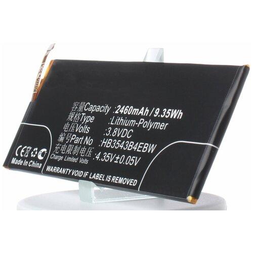Аккумулятор iBatt iB-U1-M750 2460mAh для Huawei P7, Ascend P7, Ascend P7-L10, Ascend P7-L07, Ascend P7-L00, Ascend P7-L05,