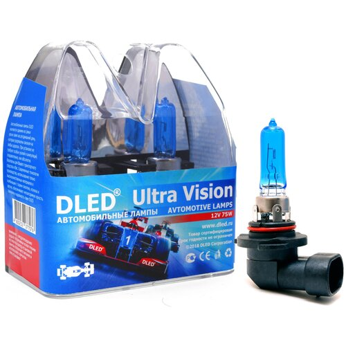 "Автомобильные лампы H10 75W 3000K DLED ""Ultra Vision"""