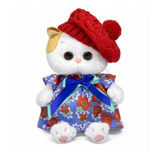 Купить Мягкая игрушка Кошечка Ли-Ли BABY в платье и ажурном берете , 20 см, BUDI BASA collection, Мягкие игрушки