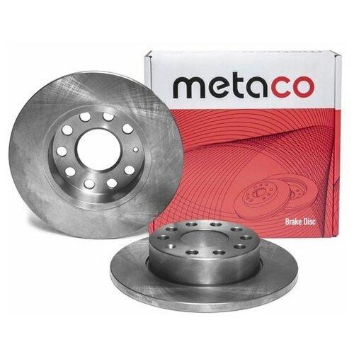 Диск тормозной задний (Производитель: METACO 3060041)